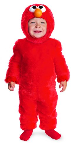 Disguise Sesame Street Light Up Elmo Toddler Costume, 2T front-975128