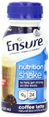 Ensure Complete Balanced Nutrition Drink Coffee Latte 8-Ounce