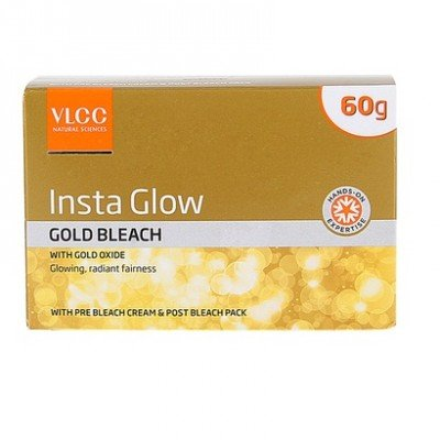 vlcc-insta-glow-gold-bleach-with-gold-oxide-for-glowing-radiant-fairness-60gm