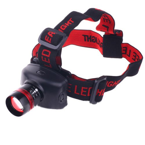 High-Quality Lc-009 Adjustable 300 Lumens 5W 3 Modes Headlamp Flashlight Torch