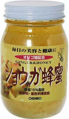 オリヒロ ショウガ蜂蜜580g