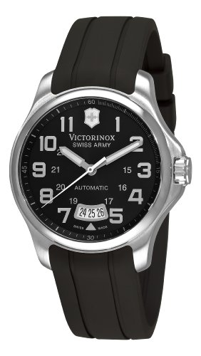 Swiss Watches:Victorinox Swiss Army Men's 241369 Officer's Black Dial Watch Images