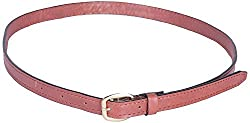 Dagger Women's Slim Fit Belt (Brown)(Dag_B_004)