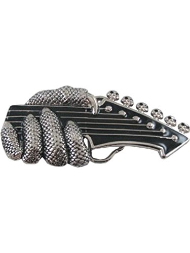 Grtelschnalle-Gitarre-Hand