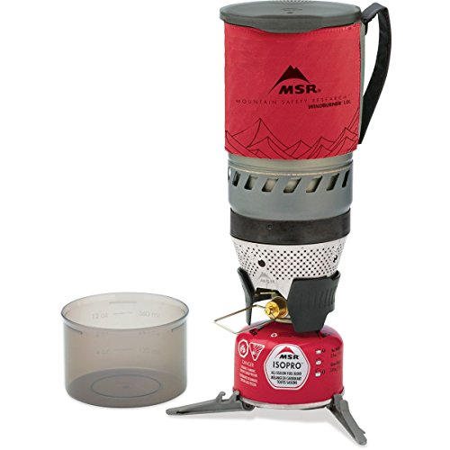 MSR Windburner Personal Stove System, Red, 1 L (Personal Cooking System compare prices)