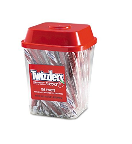 twizzler-strawberry-twists-individually-wrapped-pack-of-105-by-twizzlers