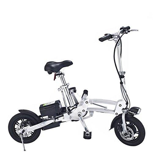 Bicicleta plegable urbana con motor eléctrico