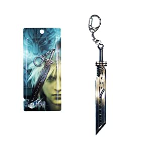 Final Fantasy Keychains VII red handle 4 inch