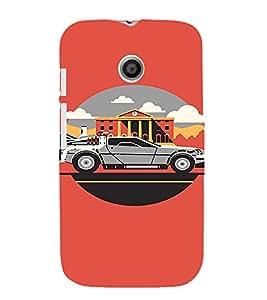 EPICCASE Wanna Ride Mobile Back Case Cover For Moto E (Designer Case)
