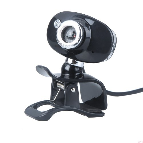 Docooler USB 2.0 50.0M HD Webcam Camera Web Cam With MIC For PC Laptop Computer Silver Black