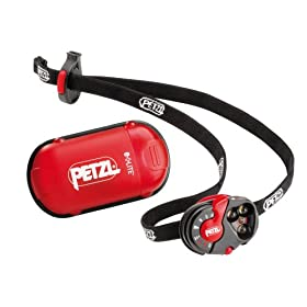 Petzl E02 P2 e+LITE Headlamp with Integrated Whistle