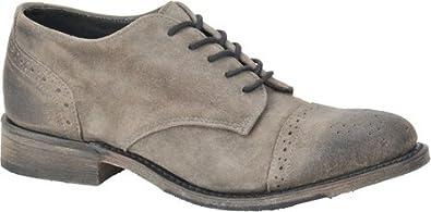 Vintage Shoe Company Women's Grey Suede Josie 6 B(M) US