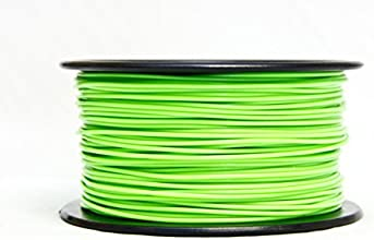 MG Chemicals Glow in The Dark (Green) ABS 3D Printer Filament, 1,75mm, 0.25 Kg Spool