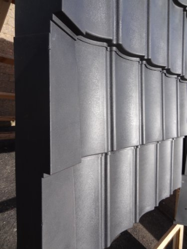 Profiled Uncoated diy plastic roofing sheets, lightweight and eco friendly