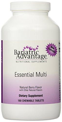 Bariatric Advantage Complete Multi Formula Chewable Berry Flavor 180 ct (Bariatric Advantage Essential compare prices)