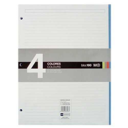 miquel-rius-100-sheet-notebook-pad-85-inch-x-11-inch-lined-acrylic-multicoloured-2-piece