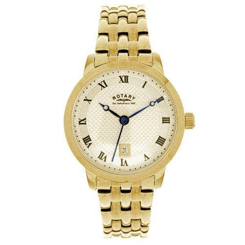 Rotary Ladies Round Gp Bracelet Watch LB42827/40