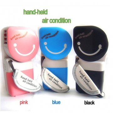 Bheema USB Mini Portable Handheld Air Conditioner Cooler Fan - Blue