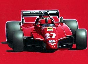 1/20 F-1 GP-1 フェラーリ126 C2 1982 サンマリノGP