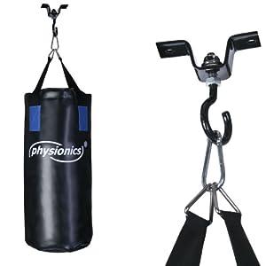set punching avec sac de frappe gants de boxe 8 oz bandes de protection 1 fixation