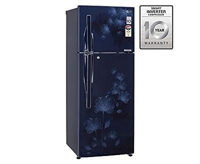 LG GL-D292JMFL Frost-free Double-door Refrigerator (258 Ltrs, 4 Star Rating, Marine Florid)