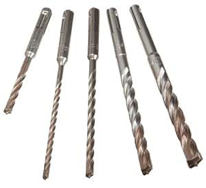 DEWALT DW5470 5-Piece Rock Carbide SDS Plus Hammer Bit Set