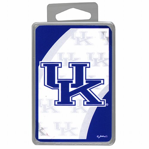 NCAA Kentucky Wildcats Crystal Box Playing Cards