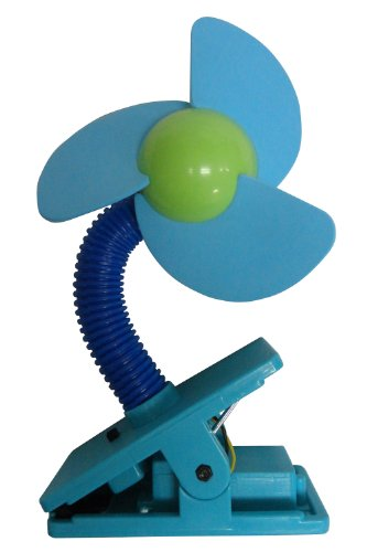 UVION CLIP FAN クリップ式どこでも扇風機 ブルー 9081BL
