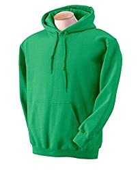 Gildan DryBlendTM 9.3 oz., 50/50 Hood XL IRISH GREEN