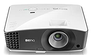 BenQ MW705 3D DLP-Projektor (WXGA 1280 x 800 Pixel, 4000 ANSI Lumen, Kontrast 13.000:1, Vertical Keystone, MHL, HDMI, 1,1x Zoom) schwarz/weiß