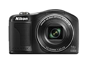 Nikon COOLPIX L610 16 MP Digital Camera with 14x Zoom NIKKOR Glass Lens and 3-inch LCD (Black)