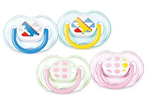 Philips AVENT SCF172/18 Fashion Soother (0-6 Months, 2-Pack)
