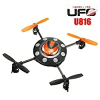 UDIRC U816 2.4GHz 4 Channel 6-axis UFO 4CH RC Helicopter UFO Aircraft Quadcopter by Banggood Co., LTD