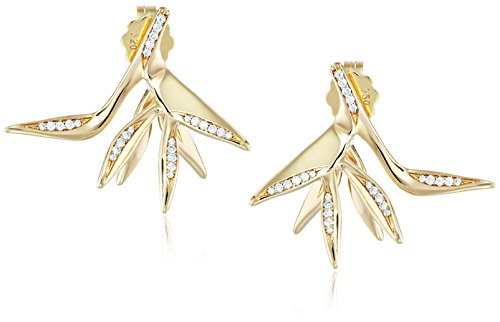 House-of-Eleonore-18k-Yellow-Gold-Bird-of-Paradise-Stud-Earrings