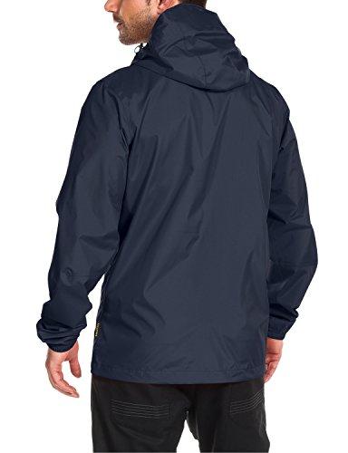 Jack Wolfskin Herren Wetterschutz Jacke Cloudburst Jacket, Night Blue, M, 1104951-1076003 -