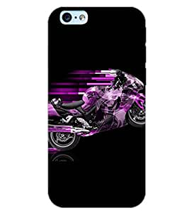 PrintDhaba CONCEPT BIKE D-6555 Back Case Cover for APPLE IPHONE 6 PLUS (Multi-Coloured)