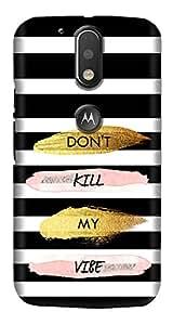 Meet Arts motoG4_Rd176 Back Cover for Motorola G4 Plus