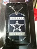 NFL Dallas Cowboys Dog Tag Necklace