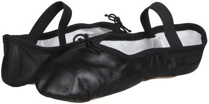 Bloch Dance Dansoft Ballet Slipper (Toddler/Little Kid),Black,10 D Us Toddler front-537566