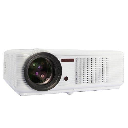 2000 Lumens Full Hd 1080p Led Lcd 3d Vga Hdmi Tv Home: Video Projecteur: (Résolution Native: 640x480, Luminosité