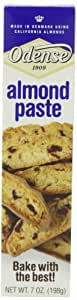 Odense Almond Paste, 7-Ounce Tube (Pack of 6)