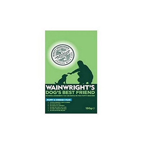 Wainwright's Puppy Food Lamb with Rice and Veg (150g) (Iams Puppy Food Lamb And Rice compare prices)