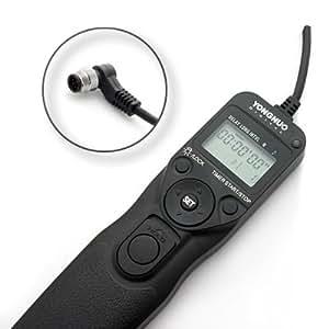 Yongnuo télécommande avec intervallomètre/minuterie Déclencheur à Distance MC36b/N1 pour Nikon D1, D1H, D1X, D2, D3, D2H, D2Hs, D200, D300, D700, F5, F6, F100, F90, F90X, N90s