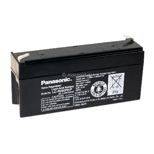 Panasonic technique de batterie au plomb (AGM) pour hellige ECG EK 33/ek 43/ek 403 Batterie Médical