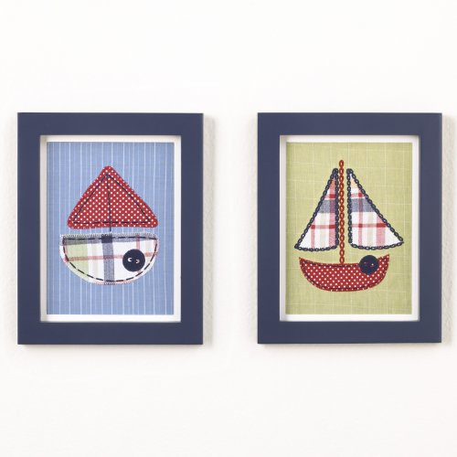 CoCaLo Framed Tug Boat Art Set - 1