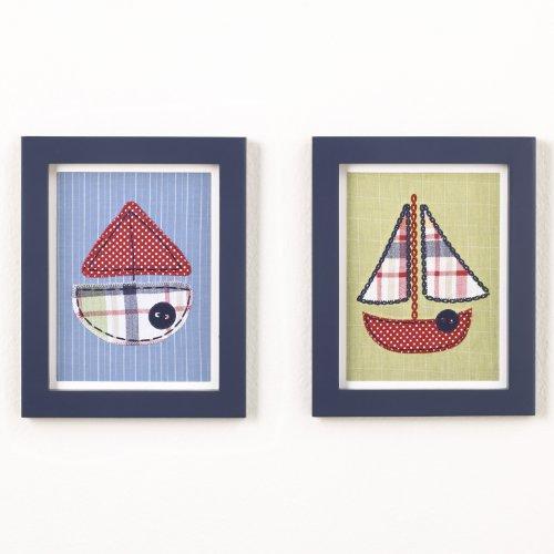 CoCaLo Framed Tug Boat Art Set