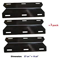 3 Pack BBQ Barbecue  Gas Grill Stainless Steel Heat Plate Shield Tent