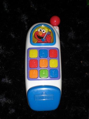 Sesame Street Elmo Musical Phone Toy - 1