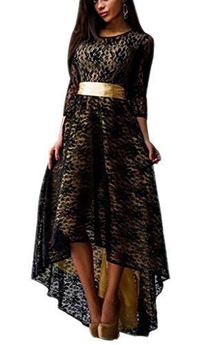 Spitzenkleider damen elegant young fashion abiballkleid for Kleider vorne kurz hinten lang zalando