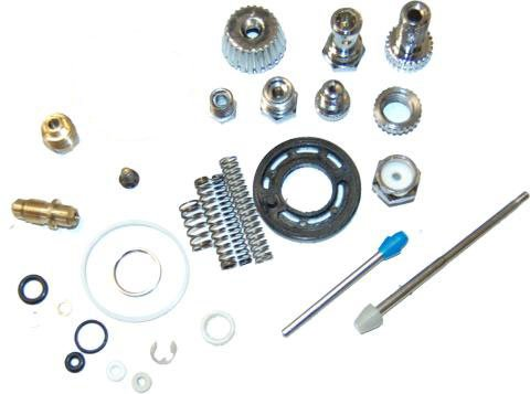 Spare Parts Kit For The G6600 Hvlp Spray Gun Tcp Global Full Size Spray Gun Repair Kit front-24938